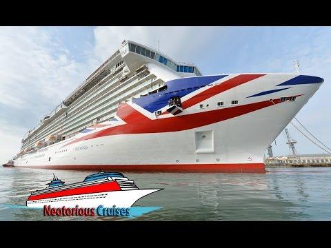 Britannia Cruise Ship : Full Photo Tour