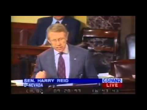 Harry Reid's Immigration Flip-Flop