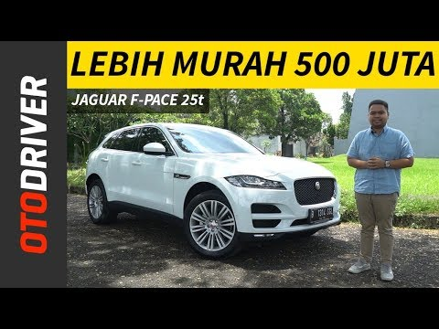 Jaguar F-Pace 25t Review Indonesia | OtoDriver