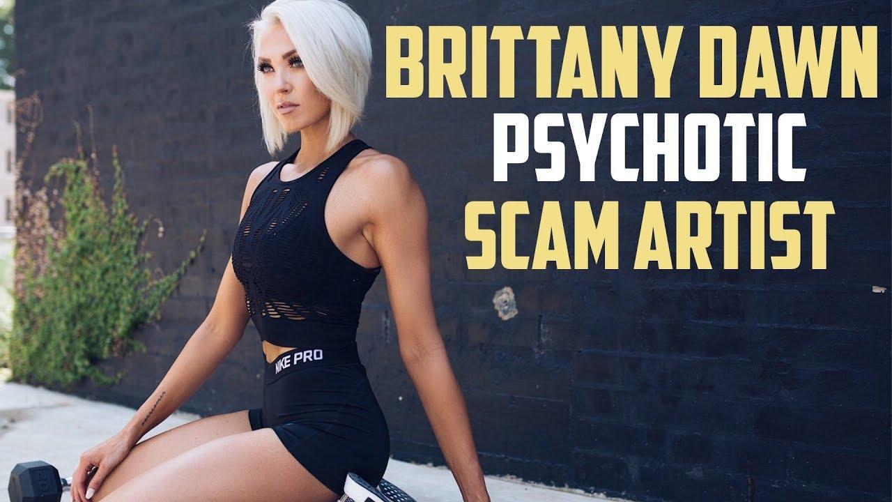 Brittany Dawn Davis - Influencer, Scam Artist and ... Brittany Dawn Fitness