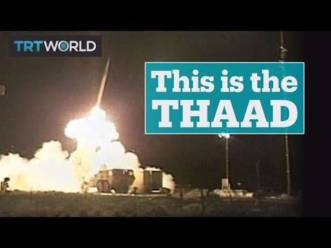 What is the THAAD missile defence system?