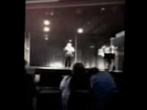 Chidawn singing Karaoke at the Rosebud Casino 2011
