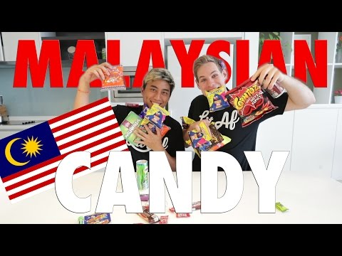 TRYING MALAYSIAN CANDIES!