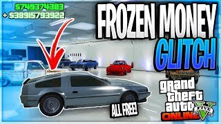 GTA 5 SOLO FROZEN MONEY GLITCH - *EASY!* GET ANYTHING FOR FREE! (GTA 5 Money Glitch) Patch 1.44/1.45