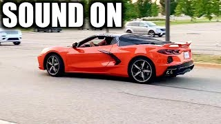 2020 c8 corvette exhaust sound and revs