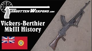 History and Disassembly of the Vickers-Berthier MkIII LMG