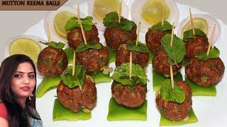 Mutton Keema Balls recipe  Meat balls baked recipe  starters dish  by manisha