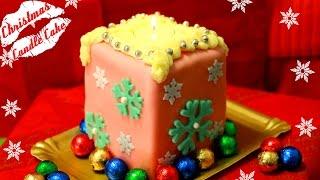Новогодний Торт Свеча (мини версия)