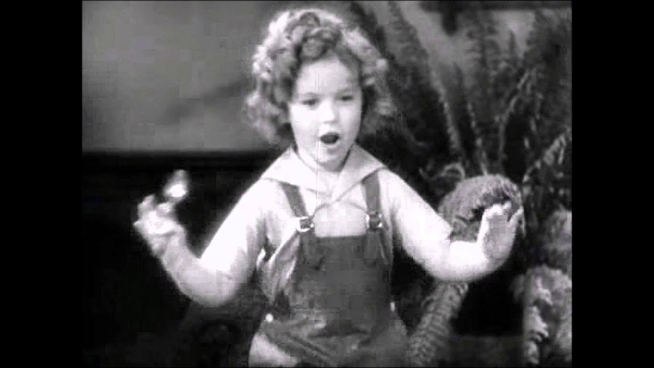 Shirley Temple Performs Animal Crackers In My Soup Youtube