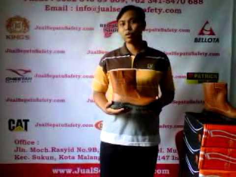 Alamat Distributor Sepatu Safety KING'S ASLI, HP:0852-3408-9809.