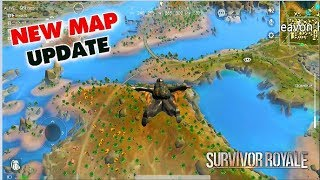 *NEW  MAP UPDATE* SURVIVOR ROYALE GAMEPLAY (Android) HD screenshot 1