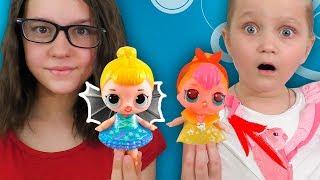 ЛОЛ НОВИНКИ #2 Кукла с Крылышками и Лол Фонарик / Оригинал или Подделки