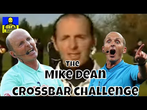 Premier League Referees Soccer AM Crossbar Challenge