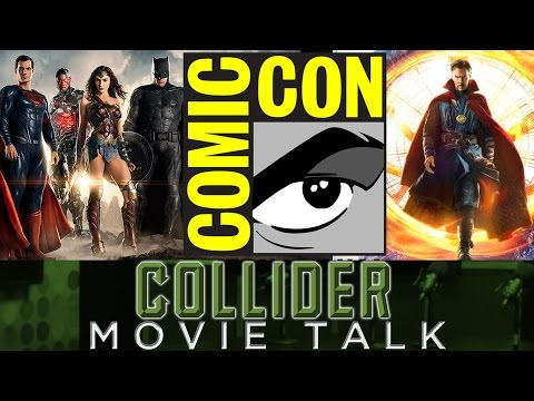 Justice League, Wonder Woman, Doctor Strange Comic Con Trailers & More - Collider Movie Talk