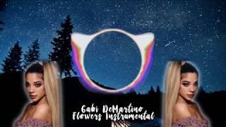 Gabi Demartino - Flowers (Instrumental Karaoke)