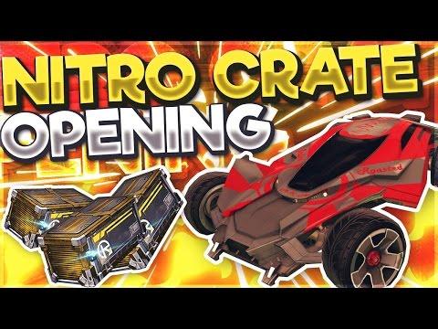 5 NEW NITRO CRATE OPENING + MANTIS NEW CAR GAMEPLAY