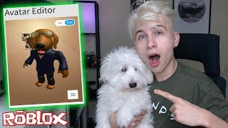 MAKING MY DOG A ROBLOX ACCOUNT and BUYING HIM ROBUX!