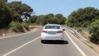 New Toyota Corolla 2013. Новая Королла.