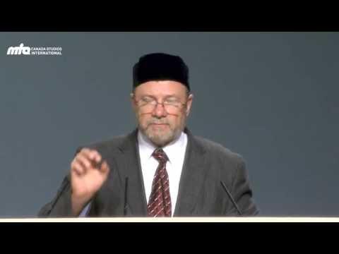Morality in a Secular Society - Jalsa Salana Canada 2013