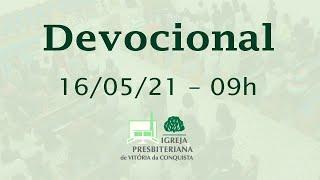Devocional EBD - 16/05/2021