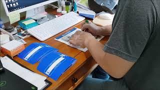 핸드레일점자판, 핸드레일촉지판, 손잡이점자, 손잡이점자…