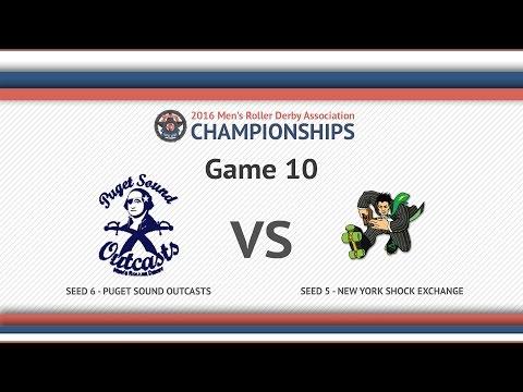 MRDA Champs 2016 | Game 10 | Puget Sound Outcasts Vs. New York Shock Exchange