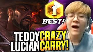 TEDDY is a BEAST with LUCIAN! - When Teddy Picks Lucian ADC! SKT T1 Replays