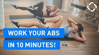 QUICK Abs Workout - 10 minutes!!