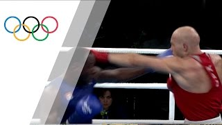 Cuba's Savon wins bronze in 91kg boxing semifinal