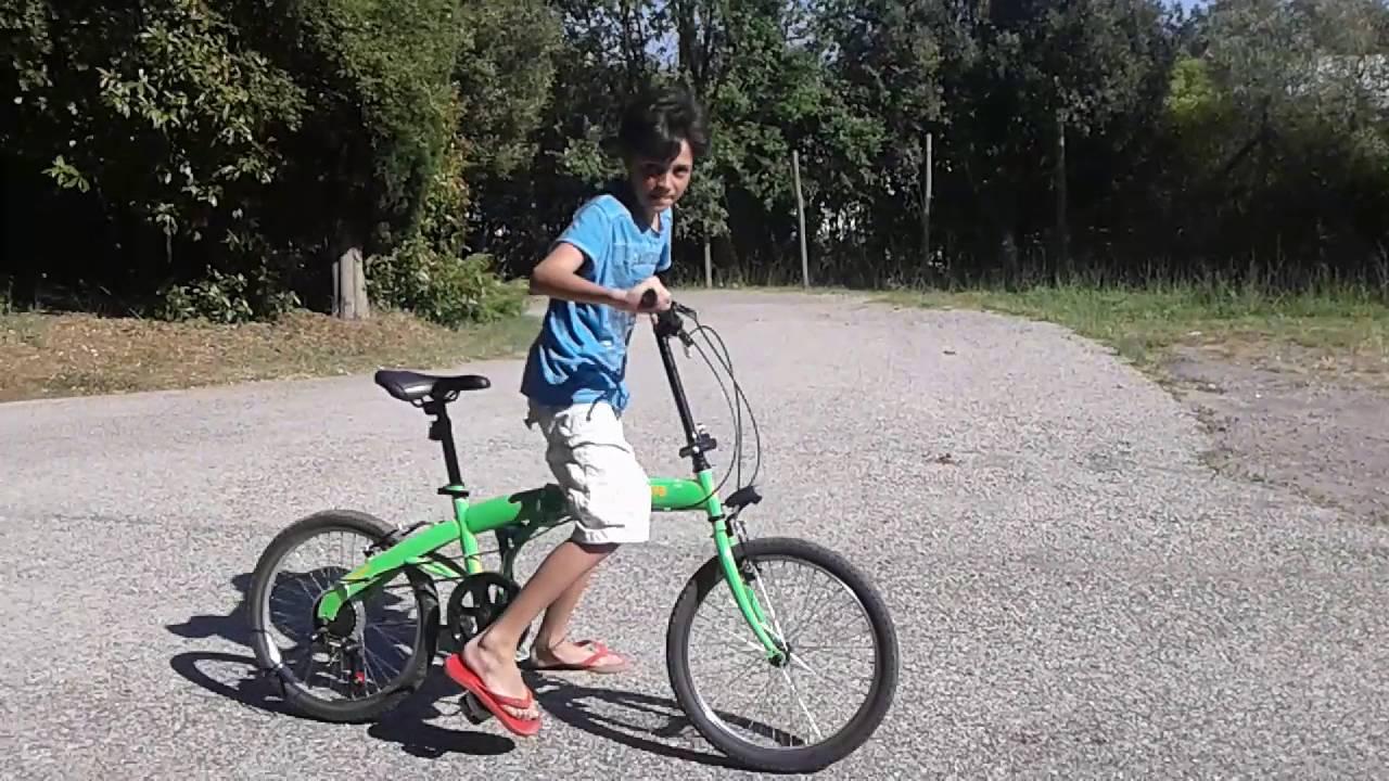La Mia Nuova Bici Pieghevole Acrobazie