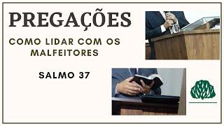 SALMO 37 COMO LIDAR COM OS MALFEITORES