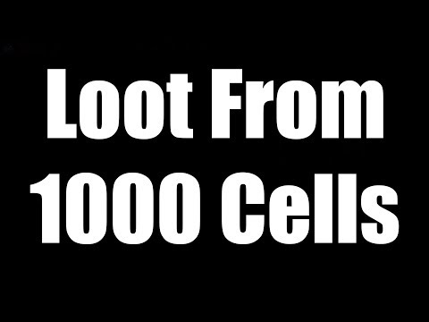 Loot from 1000 Cells