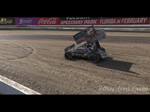 360 sprint car action from Volusia Speedway Park