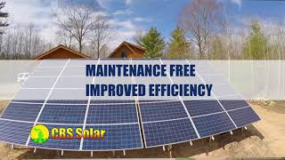 CBS Solar - Self Cleaning Solar Panels