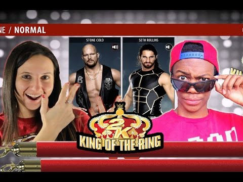 LUGE vs WILL POWER 2K King Of The Ring - Round 1 (WWE2k16)  #2KKOTR
