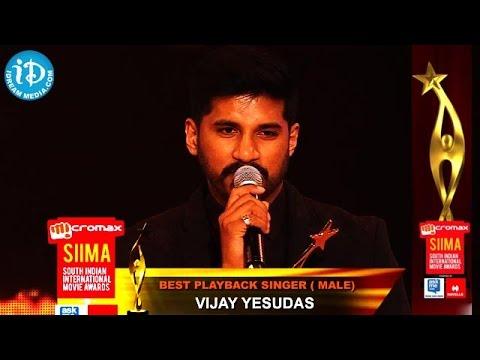 Vijay Yesudas Best Playback Singer Male@SIIMA 2014, Malayalam