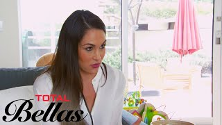 Brie Bella (Badly) Surprises Bryan With a Brand Manager | Total Bellas | E!