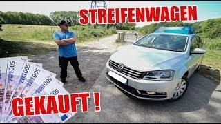 Echten Streifenwagen gekauft 😁👮🏼♀️🚓 VW Passat B7 | ItsMarvin
