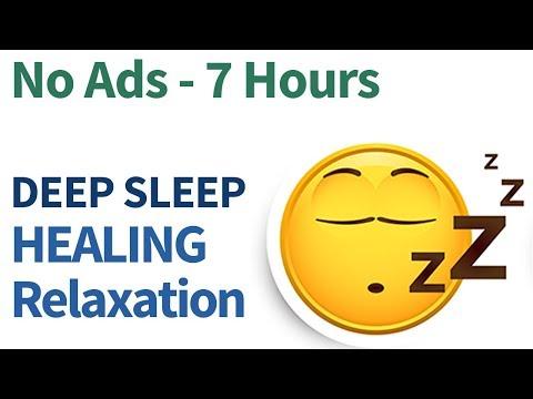 7 hour NO ADS! DEEP Sleep relaxation Music, Binaural beats, Healing Frequency, sleep meditation