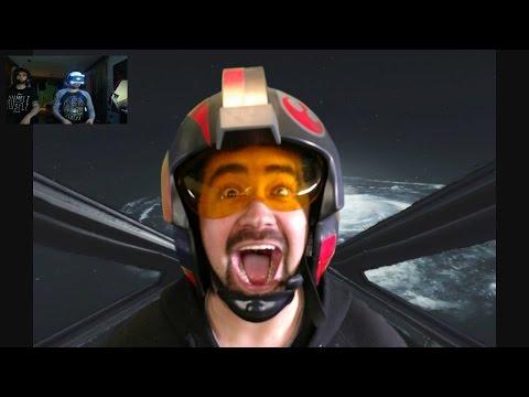 AngryJoe Plays Battlefront VR!