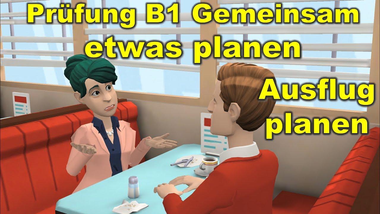 Planen b1 dtz gemeinsam etwas GOETHE