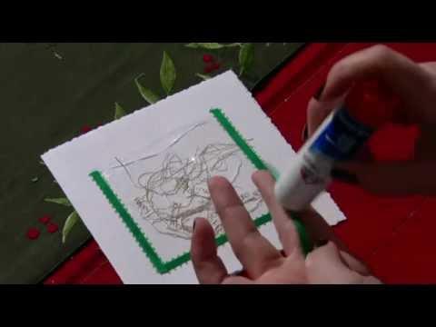 Idea para hacer tu propias tarjetas de navidad youtube - Como realizar tarjetas navidenas ...