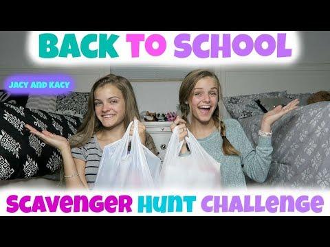 Back to School 2017 ~ School Supplies ~ Target Scavenger Hunt Challenge ~ Jacy and Kacy