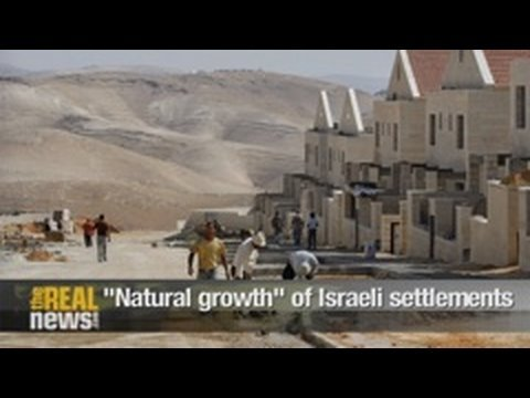 """Natural growth"" of Israeli settlements"
