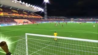 Fifa 14 - Modalità Carriera Allenatore #13-Mondiali in Brasile-Ottavi di Finale Galles-Spagna