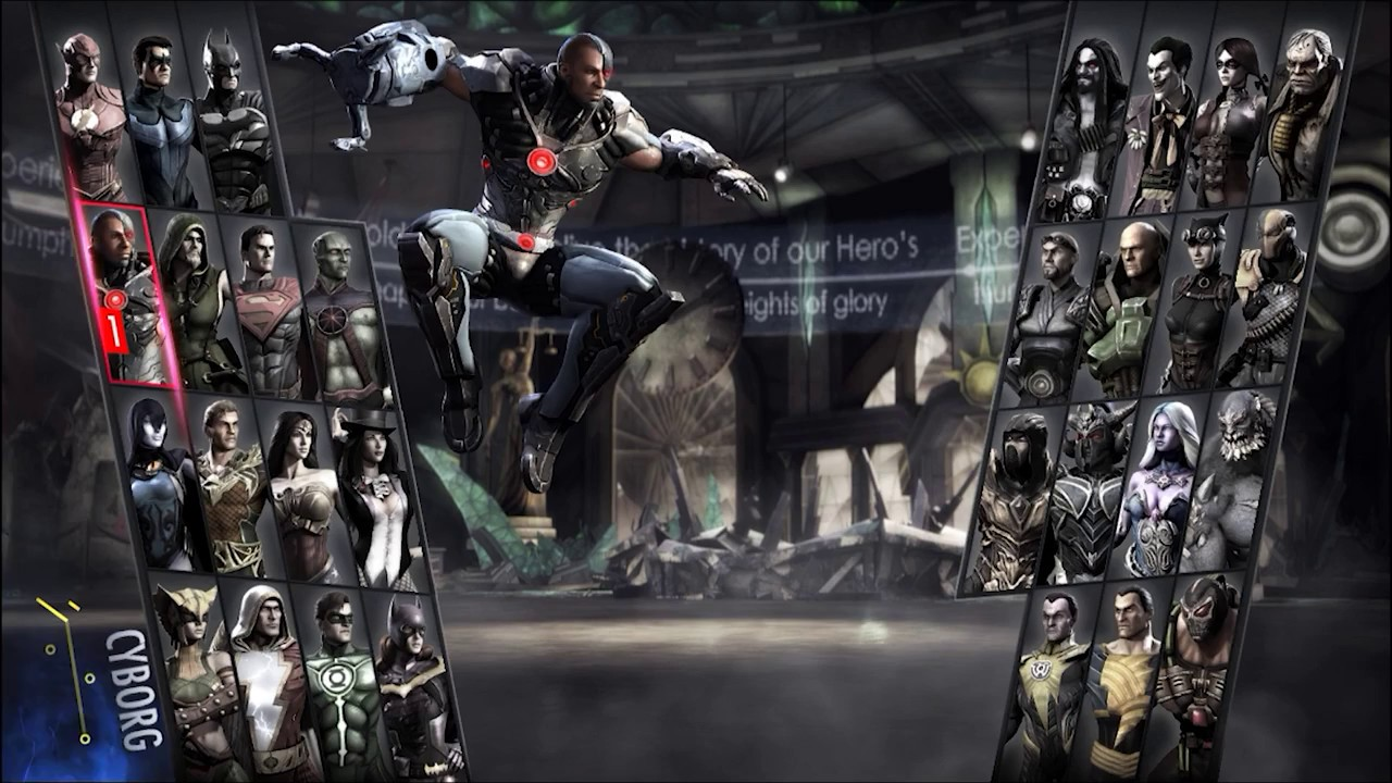 Injustice Gods Among Us Ultimate Edition All