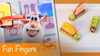 Booba - Food Puzzle: Fun Fingers - Episode 3 - Cartoon for kids