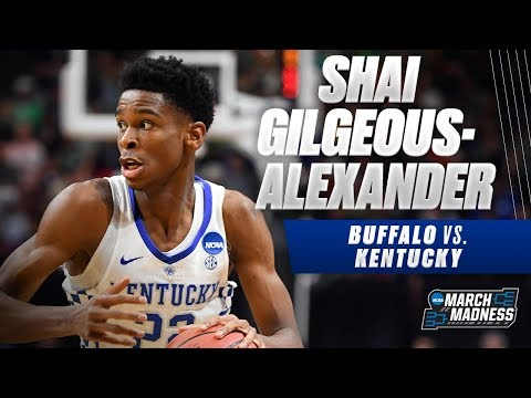 Kentucky\'s Shai Gilgeous-Alexander was on fire in the Wildcats\' win over Buffalo