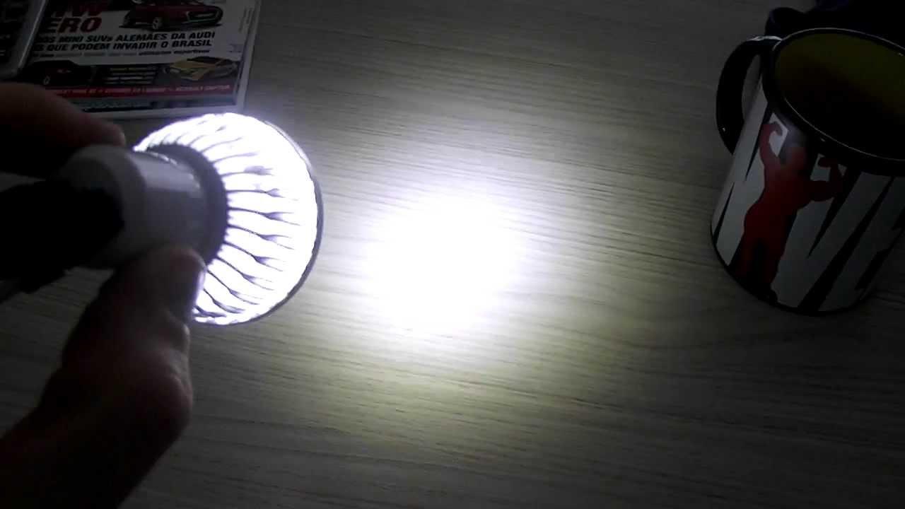 lampada LED GU10 5w 220v   Lamp LED GU10 Light Spot 5w 220v   YouTube -> Lampada Spot Led