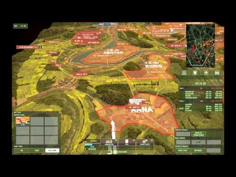Wargame: Red Dragon - Gameplay - Polish on Jungle Law (4v4)